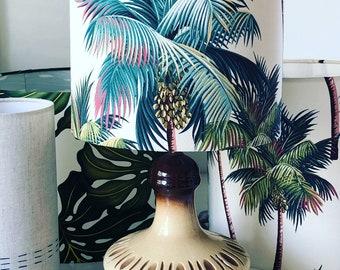 palm tree medium lampshade