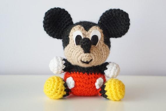 Amigurumi Magazine Pdf : Mickey mouse disney amigurumi pattern baby easy diy pdf