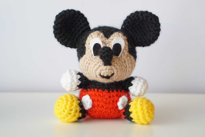 MICKEY Mouse Disney Muster Amigurumi Baby einfach einfache DIY