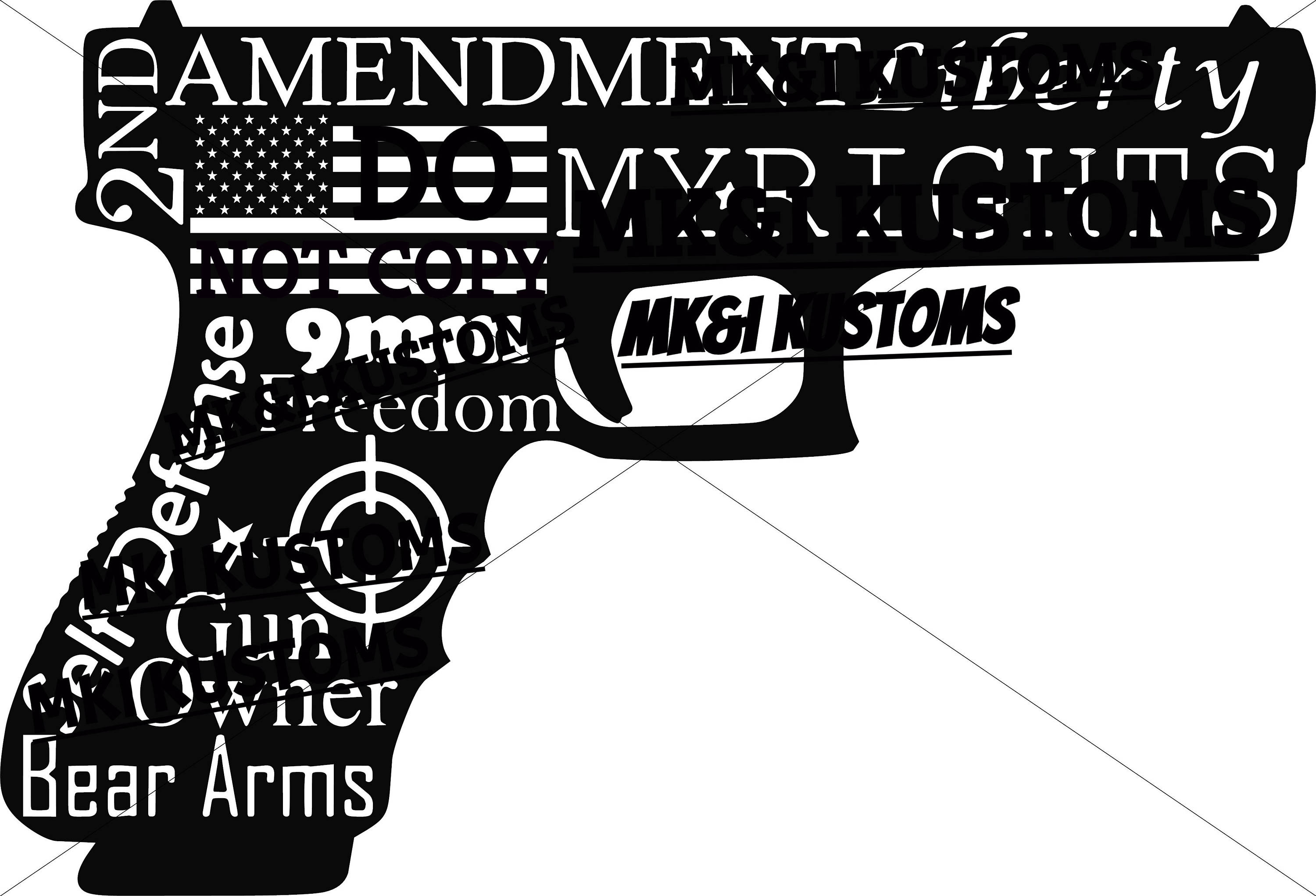 2Nd Amendment Quotes America Svg Patriotic Svggun Svg Second Amendment Svg 4Th