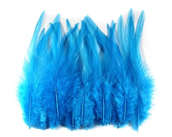 Rooster Feathers Turquoise 10308