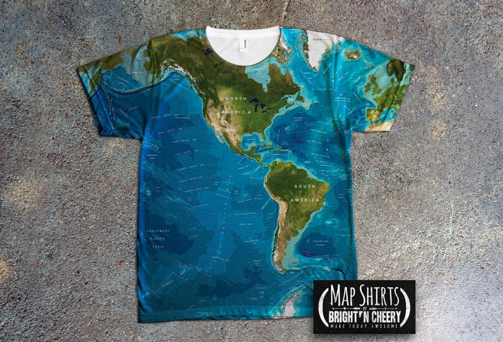 World oceans map t shirt all over print design save the zoom gumiabroncs Images