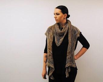 CZARINA Knitting Pattern PDF DK Weight Shawl