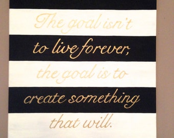 Custom quote painting