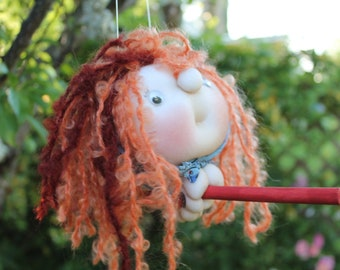 Siobhan the Kitchenwitch, folklore. Good luck doll for your kitchen & home!