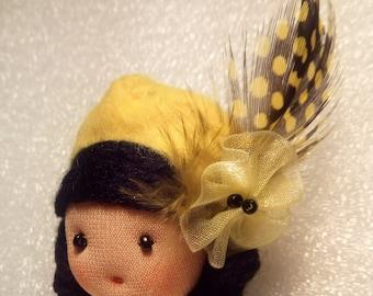 BR005 Doll Brooch