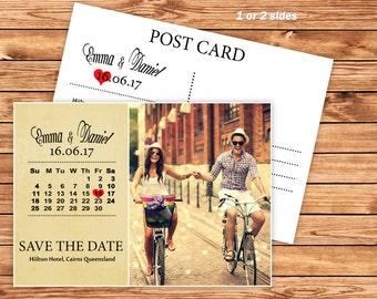 Calendar Save-the-Date Calendar Invitations-Digital File-Printable Save-the-Date-Digital Save-the-Date-5x7 Digital Invitations-Wedding card