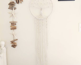 Macrame Tree of Life Dream Catcher