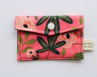 Pink Rifle Paper Co Card Holder