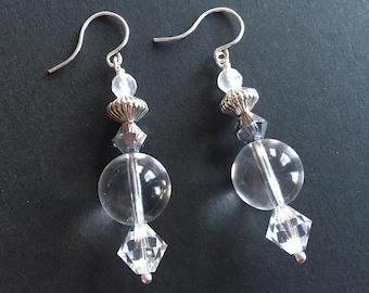 Glimpse of Transparency Earrings