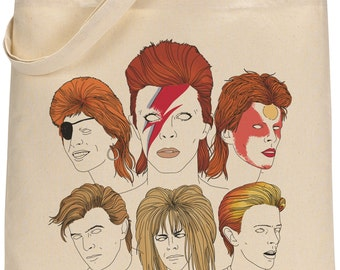 I MISS BOWIE tote bag
