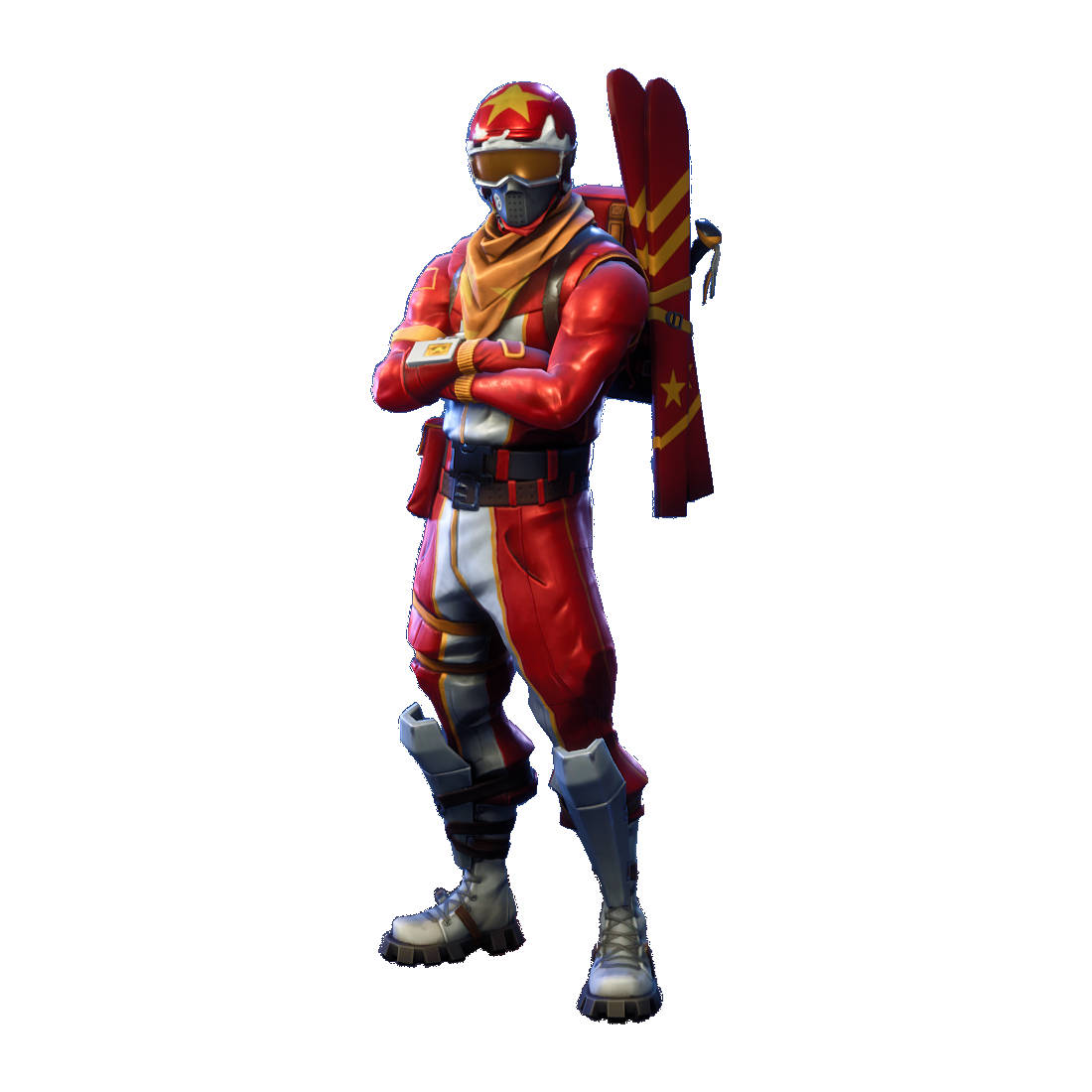 Fortnite Alpine Ace China Character Skin Sticker