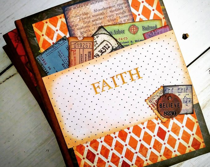 Featured listing image: Faith Prayer Journal with Unlined Pages