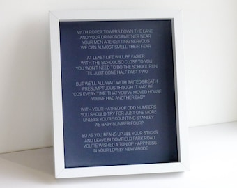 Bespoke Poetry perfect as a gift for Weddings, Anniversaries, Birthdays or any other occasion