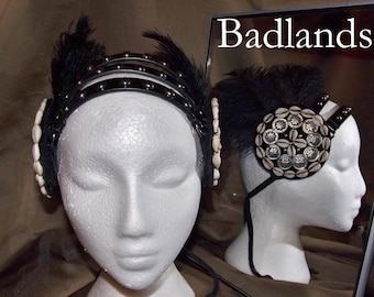 ATS Tribal Fusion Belly Dance Headpiece, Badlands