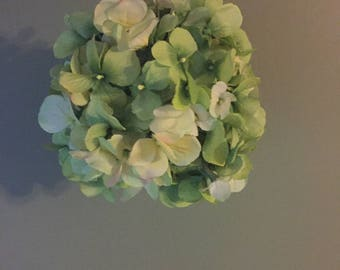 Hydrangea Hanging Orb