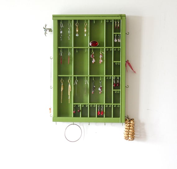 Dill Pickle Printer Drawer jewelry hanger