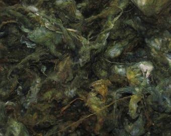Silk Neps  1 ounces Handpainted, September Morn