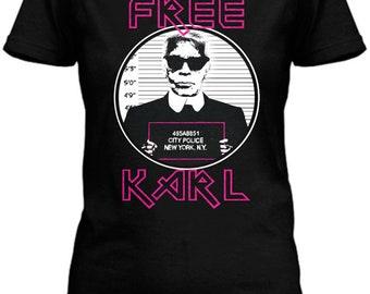 Free Karl Tee by Socialitte, Karl Lagerfeld Tee