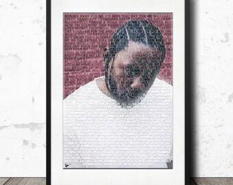Kendrick Lamar Humble Artwork Print Poster