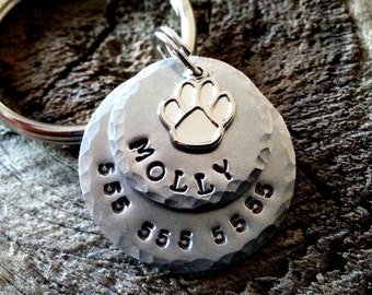 Dog Tag / Personalized Pet ID Tag / Dog Tag  / Pet Tag / Cat Tag / Dog Tag for Dogs / Personalized Dog Tag - Pet Accessories