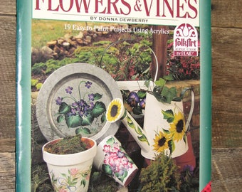 Flowers And Vines-Donna Dewberry