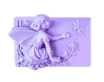 Fairy Soap - Organic Soap -  Decorative Soap - Natural Soap - Glycerin Soap -  Moisturizing Soap  -  Lavender Essential Oil