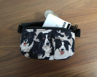 card holder, coin purse for the car for the holidays, school, work etc. Border Colli