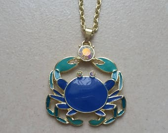 Gift from the Ocean - Crab Pendant