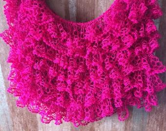 Pink Beach skirt handmade