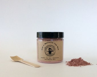 Rose & Bentonite Clay Mask - Rose Kaolin Clay Mask - Pink Clay Mask - Clay Mask for Dry Skin - Mask for Sensitive Skin - Clay Face Mask