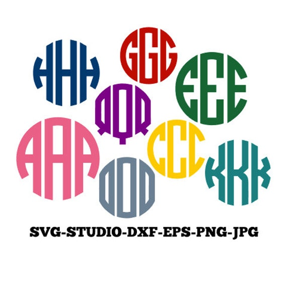 how to make a circle monogram in photoshop cs5.1