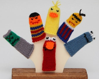 Imaginary Pals Finger Puppet Set. (6 Puppets)  We can create custom listings.
