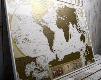 We have been map etsy paper anniversary gifts for him first year anniversary world map great gift for traveller xxl mappersonalized scratch off travel map gumiabroncs Image collections