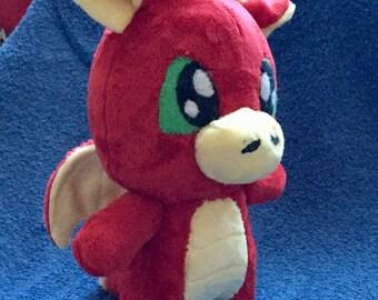Dragon Stuffed Animal / Plush / Plushie / Mythical