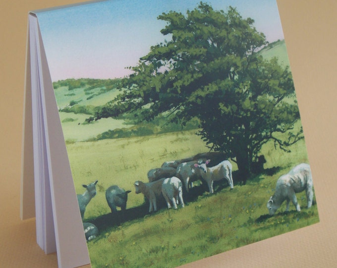 Featured listing image: SPECIAL OFFER - Spring Lambs Jotter Pad