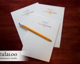 Yarn Ball Personalized Notepad for Knitters