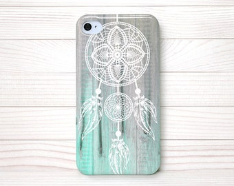 iPhone 4 Case, iPhone 4 Cases, iPhone 4S Case, iPhone 4 Case Wrap Around - Dream Catcher Wood - 135