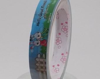 Deco Tape Kawaii Bunny Friends 15m