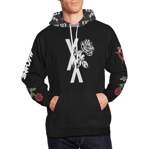 Bloom Black Flag EST 19XX All Over Print Hoodie xrMjjuH8