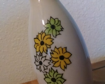 Small White Vase Made in Japan