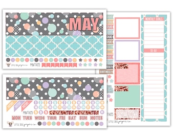 MNTH05 // May Monthly View Kit // Bubbly