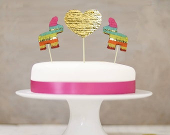 More Colors Cake Topper