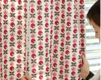 Scandinavian Nordic Swedish Vintage Fabric Cotton 100% - Ellin