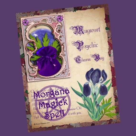Mugwort Psychic Charm Bag Spell