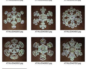 FSL-Mylar-Snowflake-Fantasy ( 10 Machine Embroidery Designs from ATW ) XYZ17B