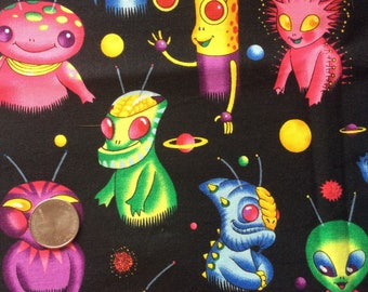 GALAXY GUYS Vintage Alexander Henry Novelty Fabric