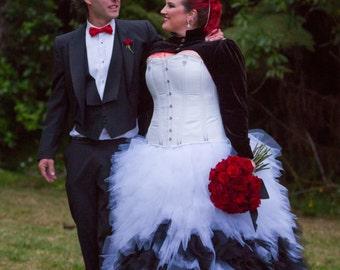 Custom Gothic Wedding Dress 'The Magdalene'