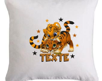 YOUNG cubs pillow personalized with text of your choice