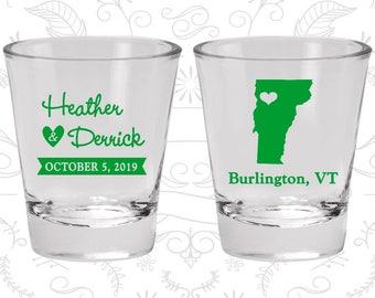 Vermont Shot Glass, Vermont Shot Glasses, Vermont Glass, Vermont Glasses, Vermont Glassware (144)